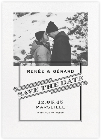Volute (Landscape Photo) - Paperless Post - Wedding Save the Dates