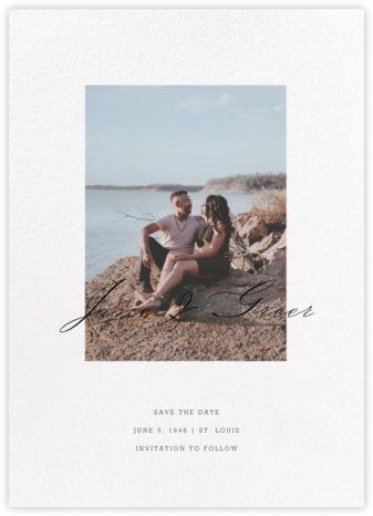 Inscription - Paperless Post - Save the dates