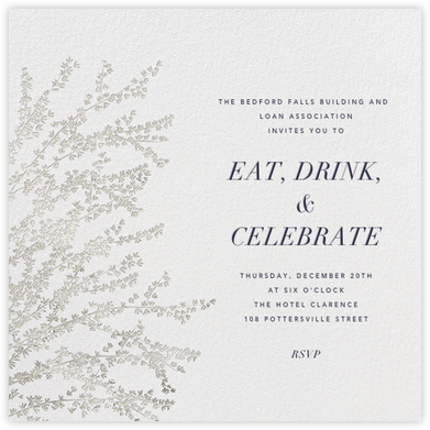 Forsythia - Rose Gold - Paperless Post - Business event invitations