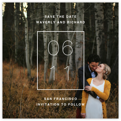 Greenwich (Square) - Paperless Post - Save the dates