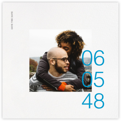 Gregorian (Square) - Paperless Post - Photo save the dates
