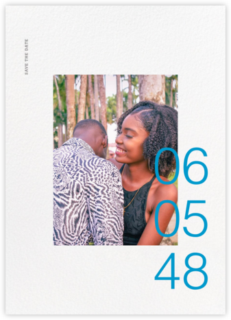 Gregorian (Tall) - Paperless Post - Save the dates
