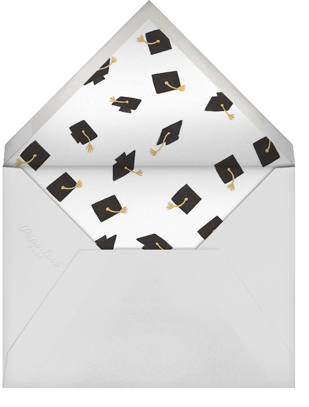 Caps Ahoy (Photo) - Rifle Paper Co. - Graduation party - envelope back