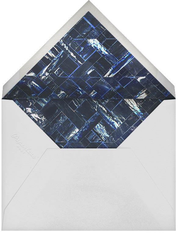 Marble - Indigo - Oscar de la Renta - Envelope