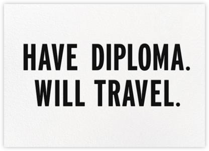 Have Diploma - Black - kate spade new york -