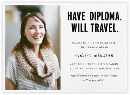 Have Diploma (Photo) - Black - kate spade new york -
