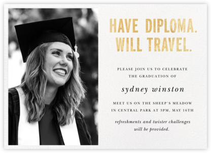 Have Diploma (Photo) - Gold - kate spade new york -