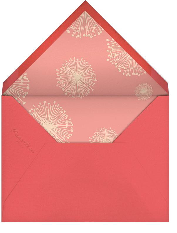 Dandelion (Stationery) - Bellini - Paperless Post - Personalized stationery - envelope back