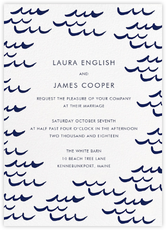 Tisbury (Invitation) - Linda and Harriett - Destination wedding invitations