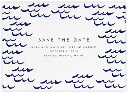Tisbury (Save the Date) - Linda and Harriett - Save the dates