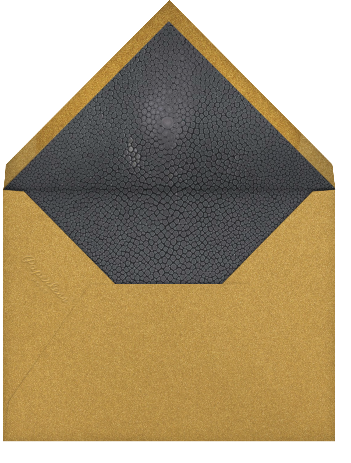 Marbleized - Kelly Wearstler - Bat and bar mitzvah - envelope back