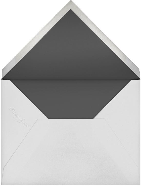 Forsythia - White/RoseGold - Paperless Post - Adult birthday - envelope back