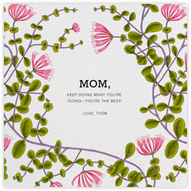 Kuusama (Greeting) - Marimekko - Mother's Day Cards