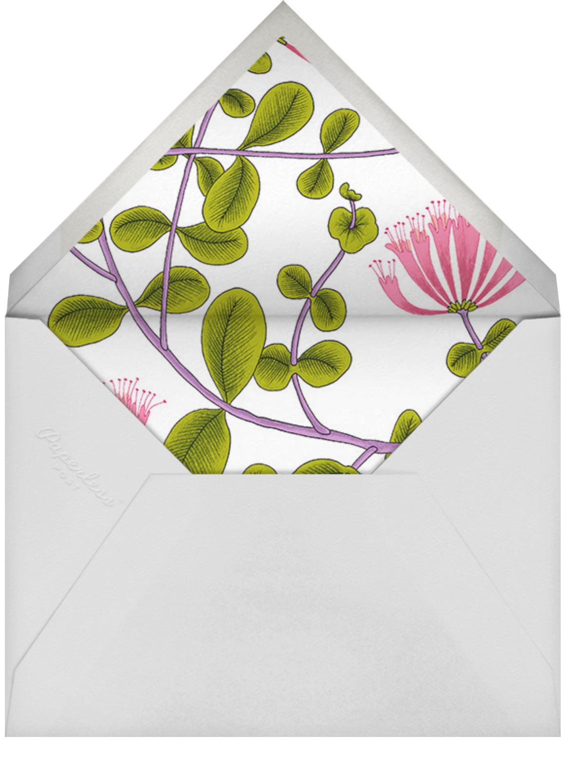 Kuusama - Marimekko - Bridal shower - envelope back
