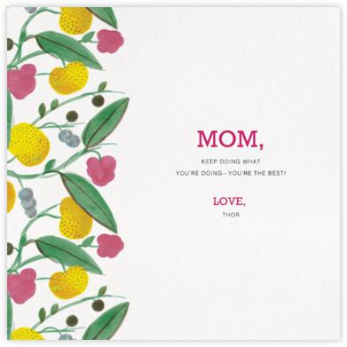 Paratiisi (Square) - Pink - Marimekko - Mother's Day Cards