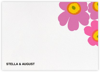 Unikko (Stationery) - Pink/Lilac | null