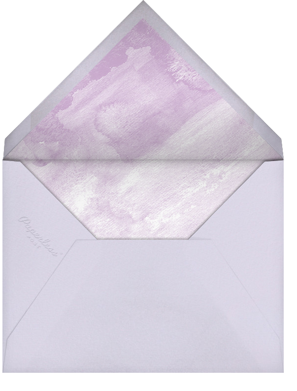 Color Wash (Stationery) - Lilac - Paperless Post - Personalized stationery - envelope back