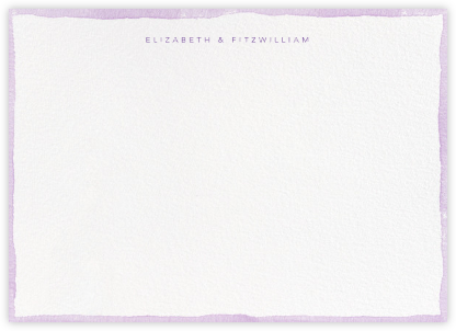 Color Wash (Stationery) - Lilac - Paperless Post - Stationery