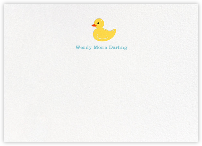 Rubber Duckies (Stationery) - Paperless Post - Baby and kids' stationery