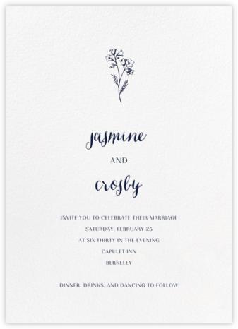 White (Tall) - Paperless Post - Online Wedding Invitations