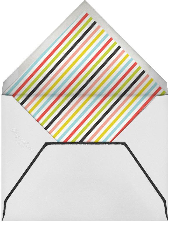 Stripes on Paper - Japanese Mix - Mr. Boddington's Studio - Reception - envelope back