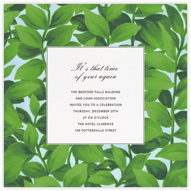 Hedge - Oscar de la Renta - Business event invitations