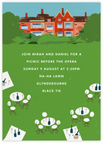 Lawn Story - Paperless Post - Summer entertaining invitations
