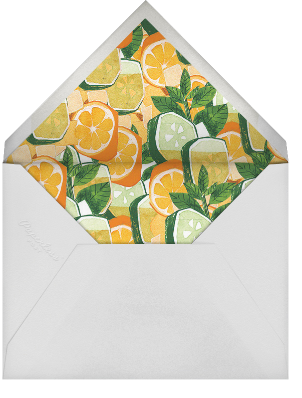 Summer Cup - Paperless Post - Cocktail party - envelope back