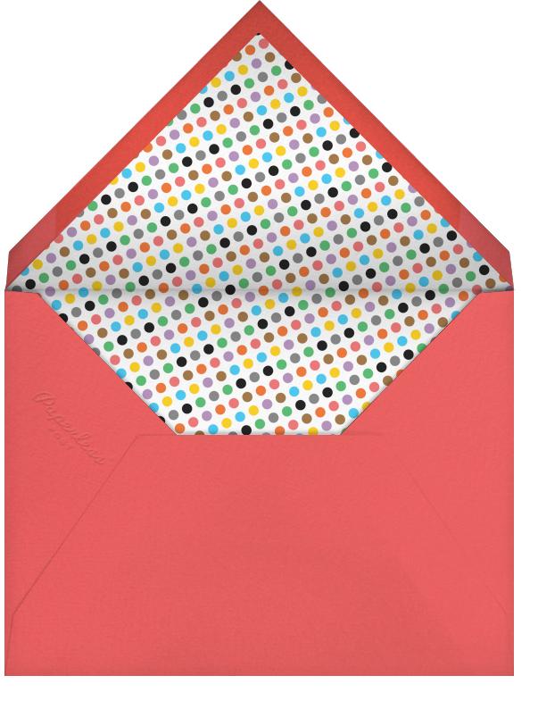 1st Birthday Party - Paperless Post - 1st birthday - envelope back