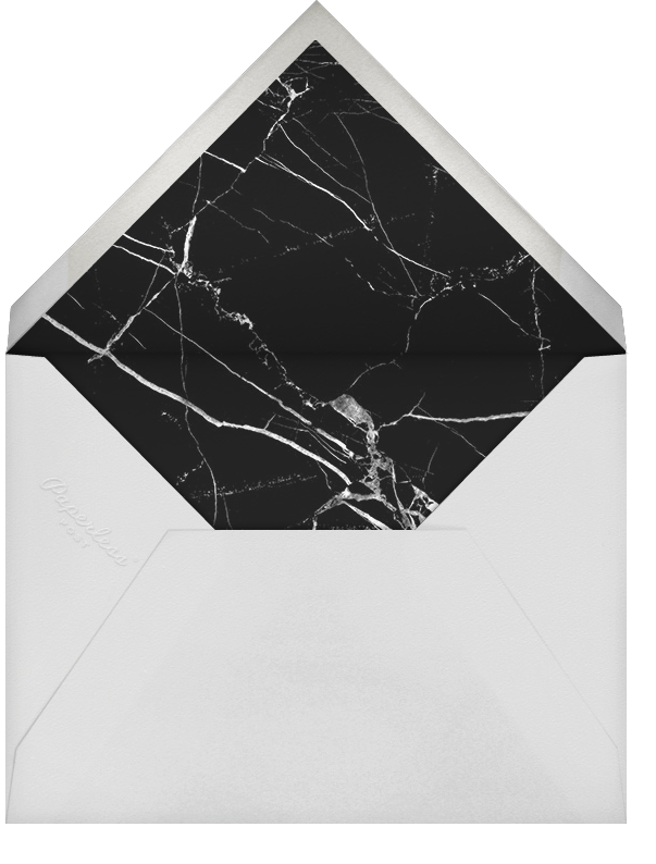 Marble Circle - Black - Paperless Post - Reception - envelope back