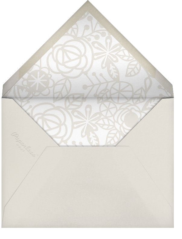 Thérèse II (Photo Save the Date) - White - Paperless Post - null - envelope back