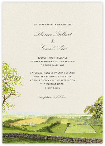 Devonshire - Felix Doolittle - Destination wedding invitations