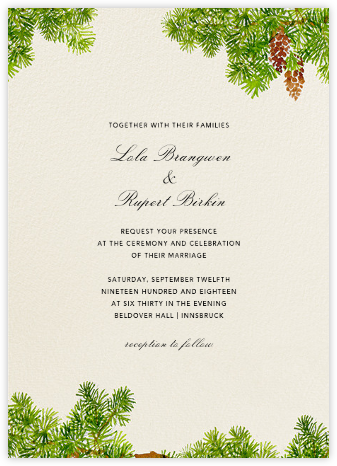 Monadnock - Felix Doolittle - Destination wedding invitations
