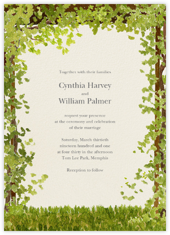 Shenandoah - Felix Doolittle - Wedding Invitations