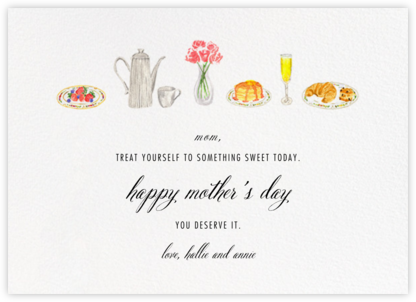 Brunch - Paperless Post - Mother's Day Cards