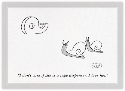 I Love Her - The New Yorker - Anniversary cards