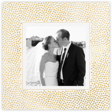 Konfetti (Photo) - Gold - Kelly Wearstler - Wedding thank you cards