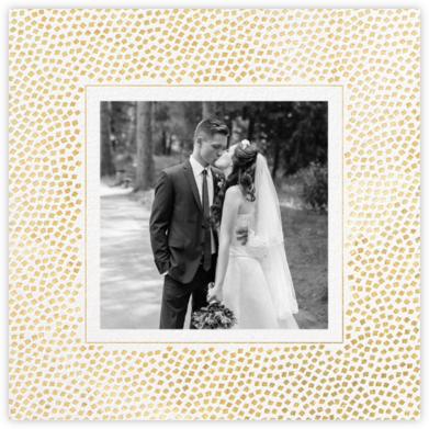 Konfetti (Photo) - Gold - Kelly Wearstler - Wedding Thank You Cards