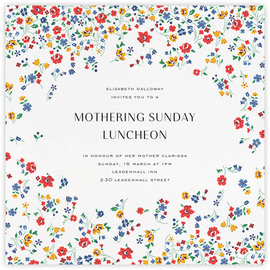 Kimberly Sarah - Liberty - Online Mother's Day invitations