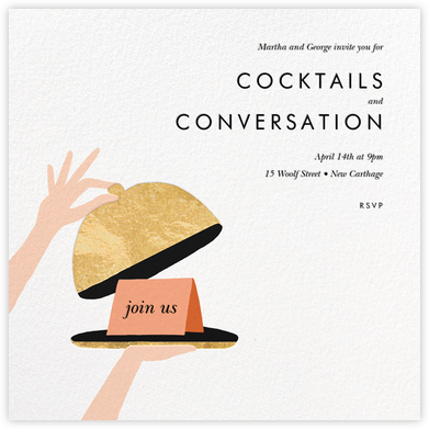 Cloche - Rifle Paper Co. - Dinner party invitations