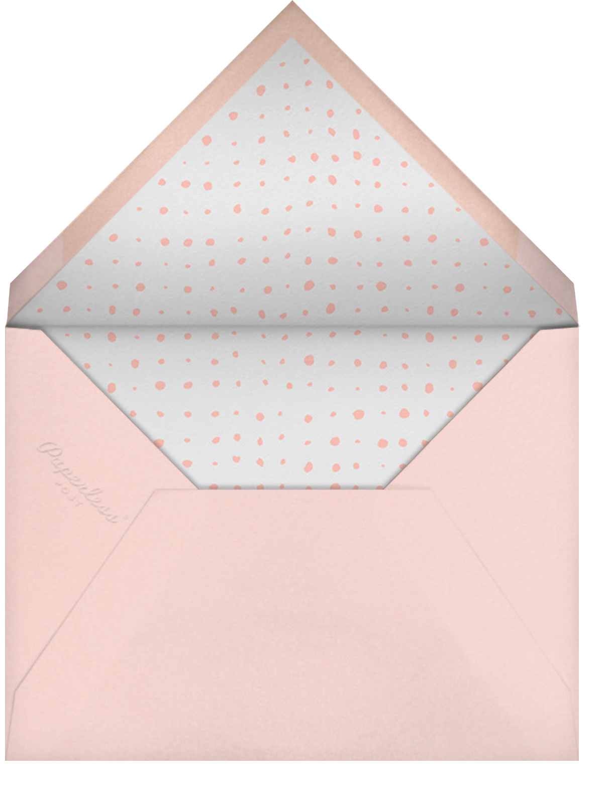 With Hugs and Kisses (Double-Sided) - Gold - Linda and Harriett - Valentine's Day - envelope back
