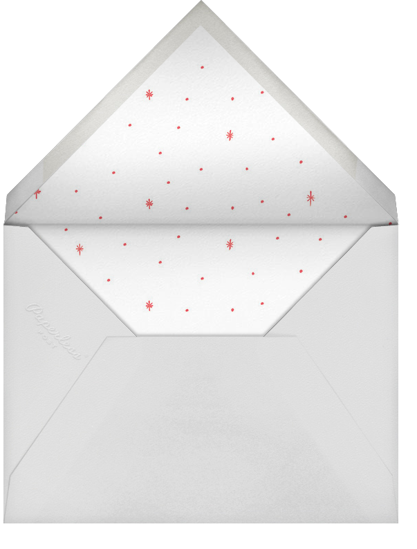 Starlit Anniversary - Coral - Rifle Paper Co. - Anniversary party - envelope back