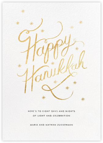 Starlit Hanukkah - White - Rifle Paper Co. -