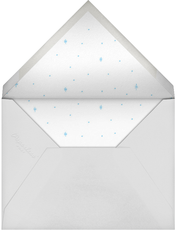 Starlit Hanukkah - Blue - Rifle Paper Co. - Hanukkah - envelope back