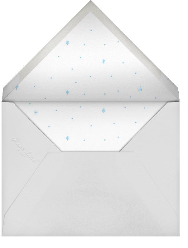 Starlit Hanukkah (Photo) - Blue - Rifle Paper Co. - Hanukkah - envelope back