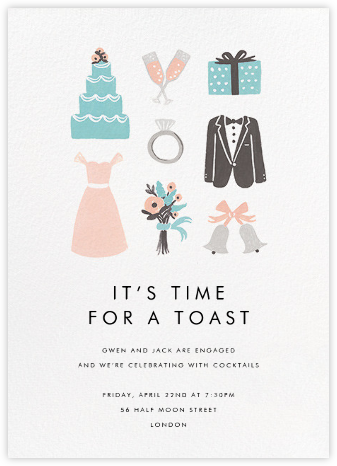 Wedding Essentials - Rifle Paper Co. - Engagement party invitations
