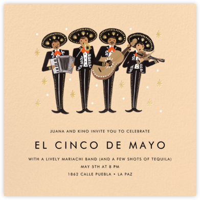 Mariachi - Rifle Paper Co. - Cinco de Mayo Invites