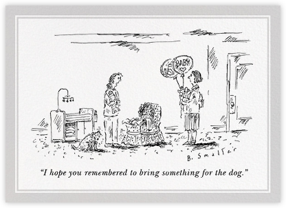 And Your Little Dog Too - The New Yorker - Congratulations cards