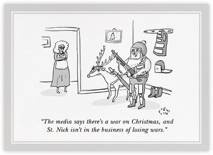 Commando Santa - The New Yorker -