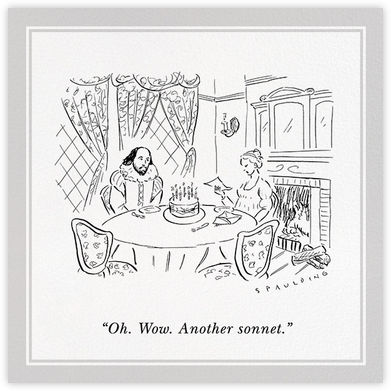 Another Sonnet - The New Yorker - The New Yorker cards and invitations
